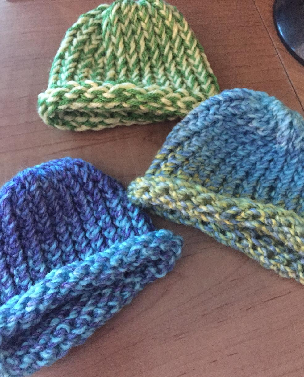 Knitting On A Loom Hat : The crafty princess diaries loom knitting